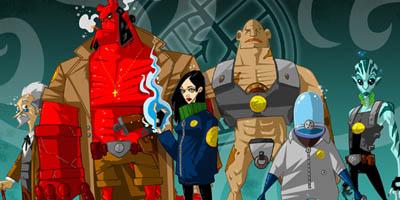 Fandomania » Fan Art Friday: Hellboy and the BPRD