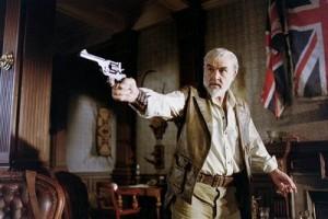 Sean Connery as Allan Quatermain