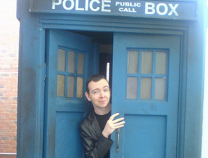 James Moran is the Eleventh Doctor!!! Just Kidding. That would be cool though.