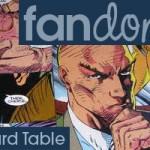 Fandomestic: DIY X-Men Card Table