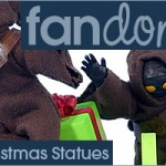 Fandomestic: 3 Star Wars Christmas Statues