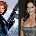 Emily Blunt as Iron Man 2's Black Widow?