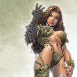 Witchblade Bikini Armor Statue