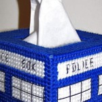 Fandomestic: Time Lord-Approved Tissue Boxes