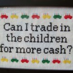 Fandomestic: 5 Jossverse Cross-Stitch Samplers
