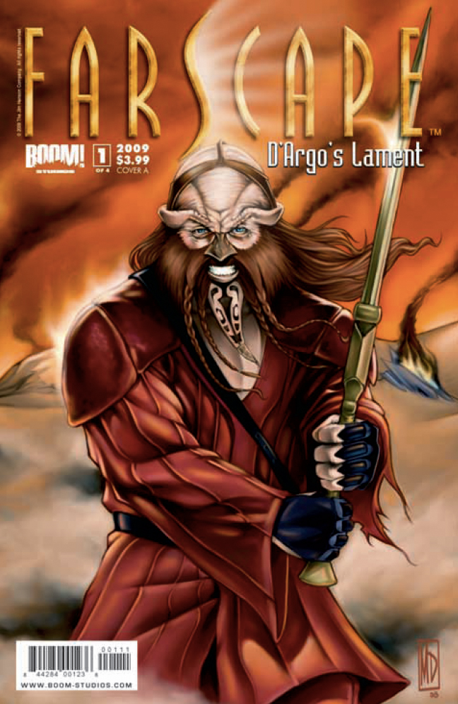 Farscape   DArgos Lament (Boom Studios)   Issues 1 4 Complete preview 0