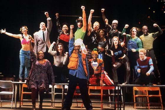 Rent Out Tonight Original Broadway Cast The Original Cast of Rent
