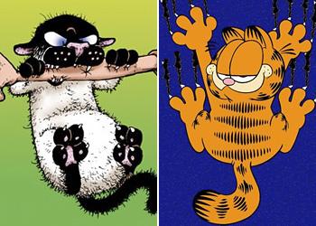 Fandom Deathmatch 7 Bucky Katt Get Fuzzy Vs Garfield Garfield