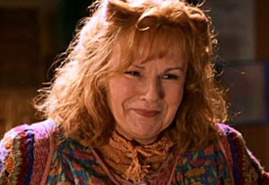 Our Favorite Wizarding World Mother, played by Julie Walters