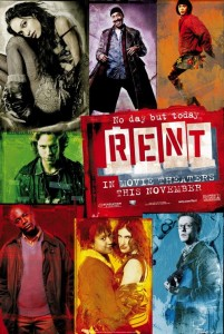 The theatrical poster for RENT.