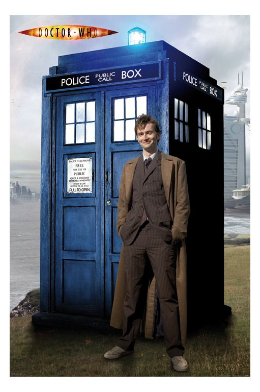 The Doctor with his number one Gadget!