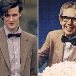 First Pics of Matt Smith as George McFly as Orville Redenbacher as The Eleventh Doctor!