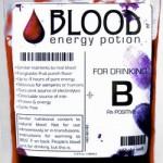 The Weirdest Exploitation of Vamp-Mania Yet: Blood Energy Potion