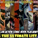 Ultimate 20 Comic Book Film Adaptations