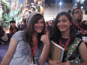 Jemma and Jessi at SDCC (photo: Ming Doyle)