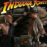 Indiana Jones Dioramas from Sideshow Collectibles