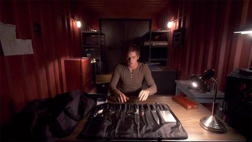 Dexter S Kill Bag And Tools