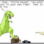 Webcomic Wednesday: Dinosaur Comics