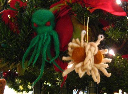 Spaghetti Christmas Ornaments