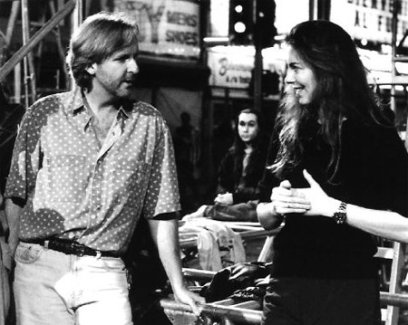 Image result for kathryn bigelow and james cameron