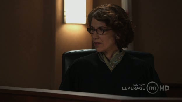 The judge listens to a witness