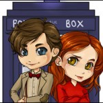 Fan Art Friday: Doctor Who: Eleven and Amy