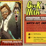 "The ""Geek a Week"" Project: Collect Them All!"