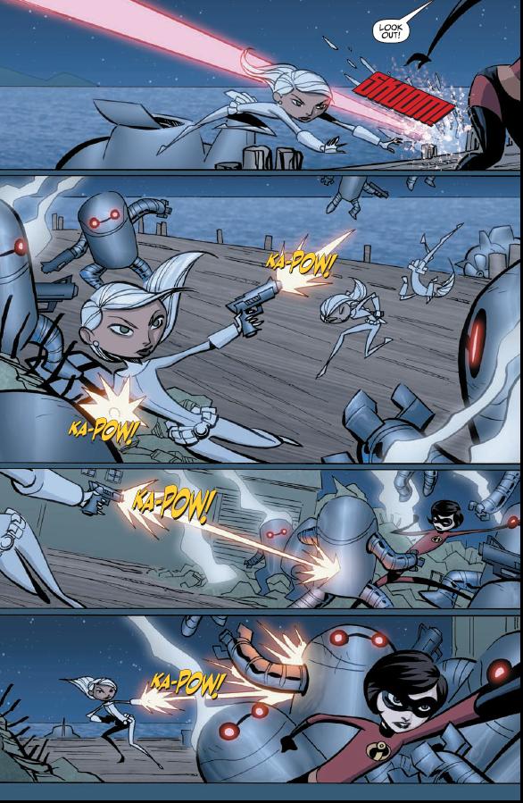 Robot Domo, Attack!