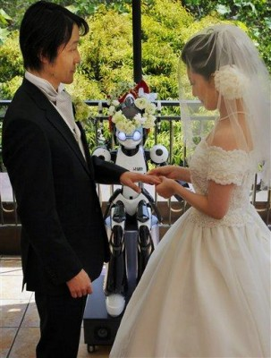 Japan Robot Wedding