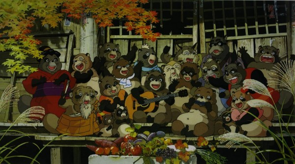 The colony of fun-loving, magical Tanuki, ready to have another party!