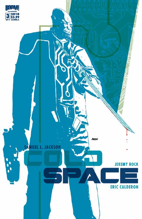 Cold Space Issue 3 Cover