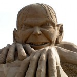 Fandomestic: 5 Geeky Sand Sculptures