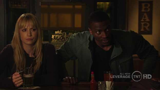 Hardison and Parker are upset with Nate