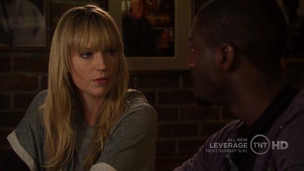 """Parker tells Hardison she has """"weird feelings"""" for... pretzels..."""