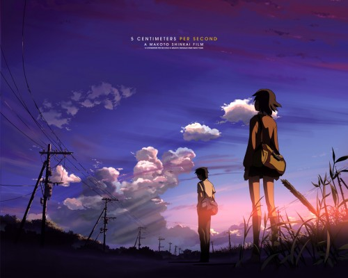 A scene from the movie 5 Centimeters Per Second.