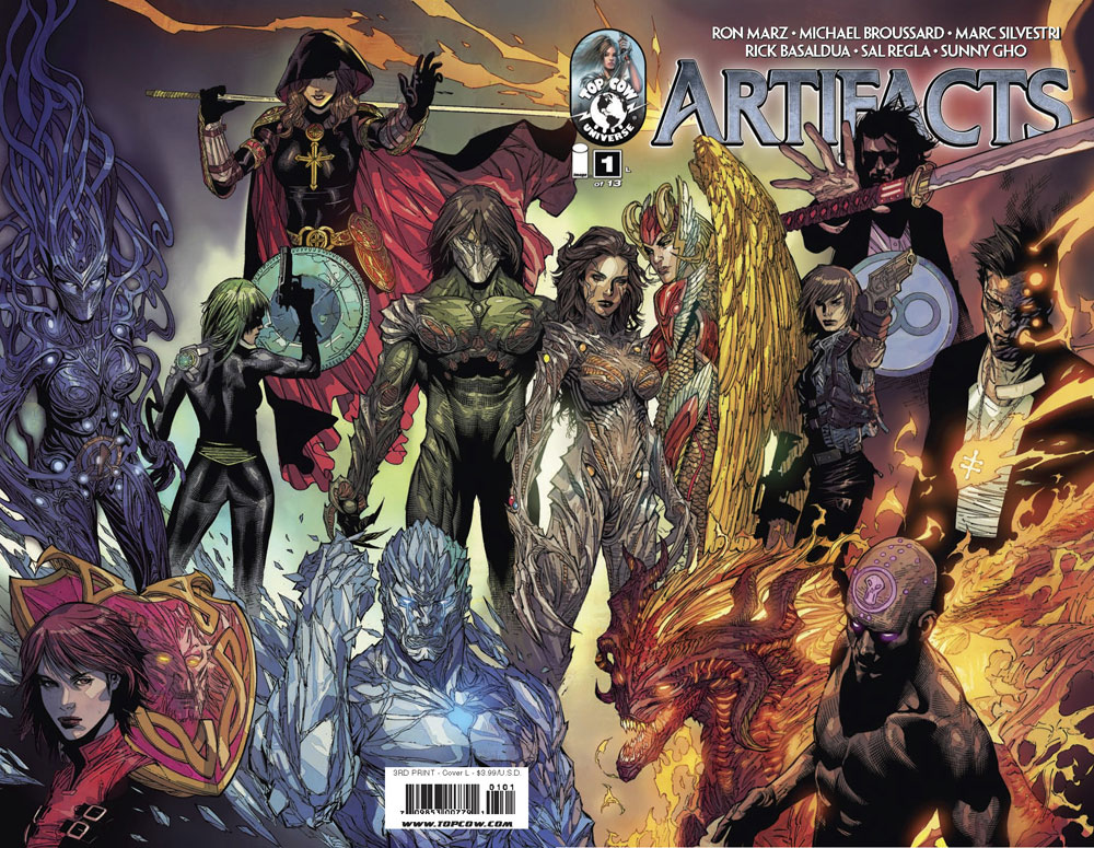 Fandomania » Top Cow's Artifacts #1 Gets Third Printing