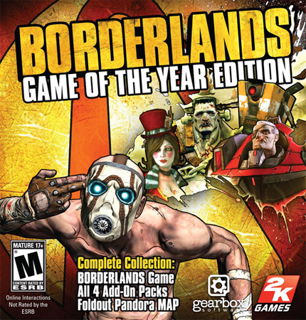 Borderlands Game of the Year Edition GOTY ISO Direct ...