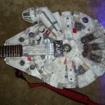Fandomestic: Millennium Falcon Electric Guitar