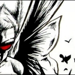 Fan Art Friday: The Mothman