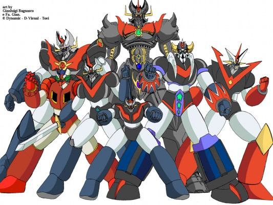 Mazinger! All of them!