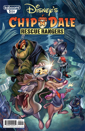 Comic Review Chip N Dale Rescue Rangers 5 Fandomania