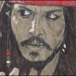 Fan Art Friday: Captain Jack Sparrow