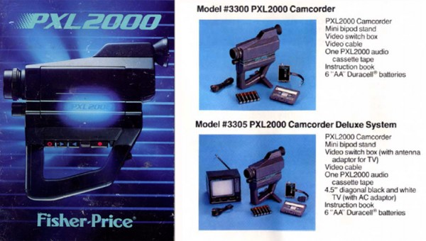 Two images from the PXL-2000 Manual.