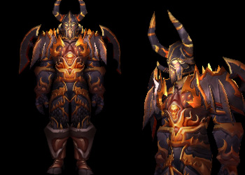 World Of Warcraft Transmogrification Top 5 Warrior Tier Sets
