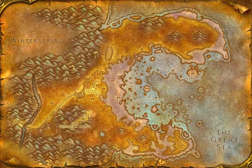 The top 10 worst places in world of warcraft fandomania before the cataclysm azshara was just a pain to get through there was very little reason to go there especially once the level cap was raised passed 60 gumiabroncs Choice Image