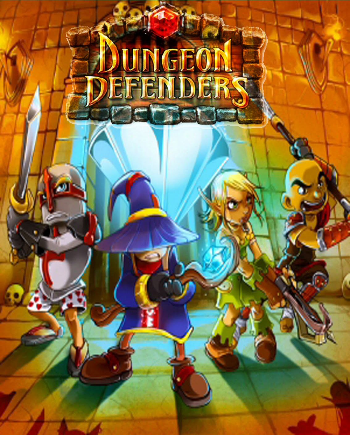 dungeon defenders for android