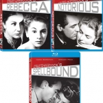 Hitchcock's Spellbound, Notorious, and Rebecca on Blu-ray