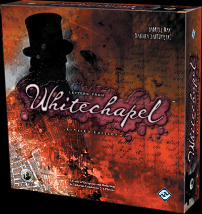 Fantasy Flight Games Pursues Jack the Ripper with Letters from