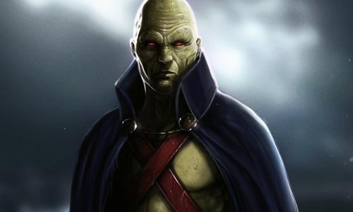 DC Injustice Martian Manhunter