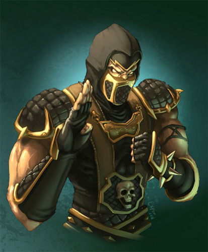 Scorpion art by EspenG